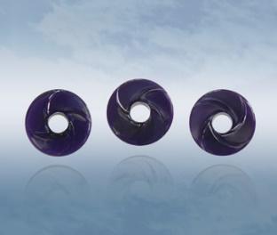 Dark Violet Wheels of Genesis